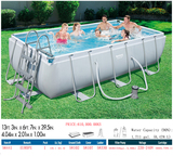 family swimming pool (gray -2A)